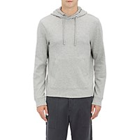 James Perse Men's Double Faced Cotton Blend Hoodie Grey