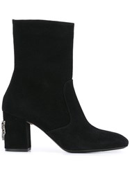 N 21 No21 Embellished Kitty Boots Black
