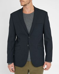 Knowledge Cotton Apparel Grey Suit Jacket