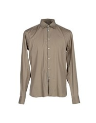 Aglini Shirts Shirts Men Khaki