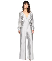 Style Stalker Rosetta Jumpsuit Silver Stripe Women's Jumpsuit And Rompers One Piece Gray