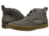 John Varvatos Mick Crepe Chukka Lead Men's Boots Gray