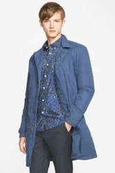 Saturdays Surf Nyc 'Malmo' Insulated Trench Coat Blue