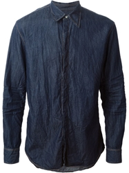 Dsquared2 Denim Shirt Blue