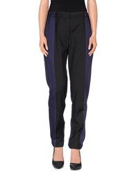 Viktor And Rolf Trousers Casual Trousers Women Dark Blue