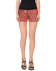 4Giveness Trousers Shorts Women Red