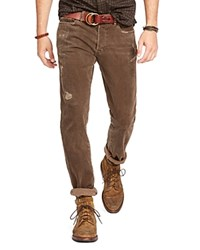 Polo Ralph Lauren Sullivan Slim Fit Jeans In Parker Bro Parker Brown
