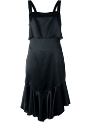 Givenchy Layered Ruffled Dress Black