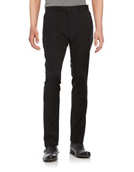 Strellson Straight Leg Dress Pants Black
