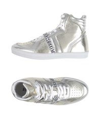 Bikkembergs Footwear High Tops And Trainers Women Silver