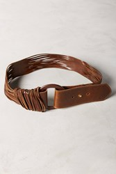Anthropologie Zuna Belt Chocolate