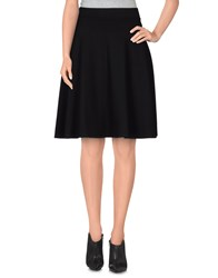 Please Skirts Knee Length Skirts Women Black