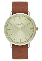 Aldo Charnas Watch Orange Bone Cognac