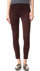 Dl1961 Jessica Alba No.2 Super Skinny Ultra High Rise Jeans Cabernet