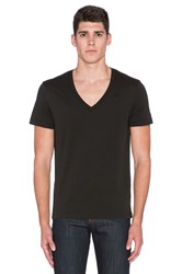 G Star 2 Pack V Neck Tees Black