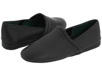 L.B. Evans Aristocrat Opera Black Leather Men's Slippers