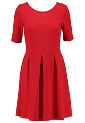 Evenandodd Jersey Dress Red