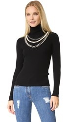 Moschino Turtleneck Sweater Black