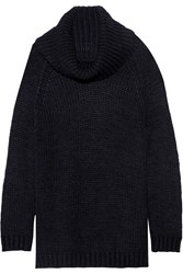 Alice Olivia Fey Chunky Knit Turtleneck Sweater
