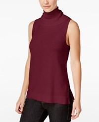 G.H. Bass And Co. Turtleneck Sweater Heather Mulled Wine
