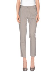 Good Mood Trousers Casual Trousers Women Grey