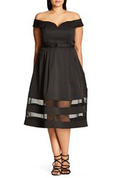 City Chic Plus Size Women's Mystique Dress