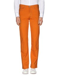 Brooksfield Trousers Casual Trousers Men Orange