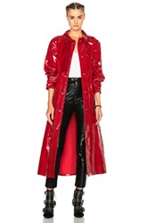 Isabel Marant Abby Romy Trench Coat In Red
