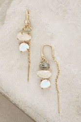 Anthropologie Warm Tide Earrings Mint