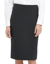 Ellen Tracy High Waist Pencil Skirt Grey