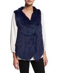 Joie Andoni Rabbit Fur Vest Women's