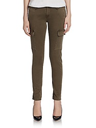 Ag Adriano Goldschmied Slim Cargo Pants Brown