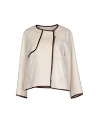 Band Of Outsiders Jackets White