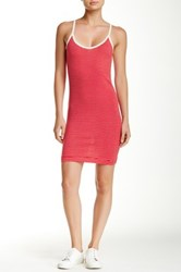 Edith A. Miller Camisole Mini Dress Red