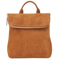 Whistles Suede Mini Verity Backpack Rust