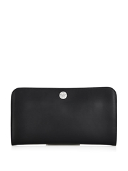 The Row Leather Shoulder Clutch