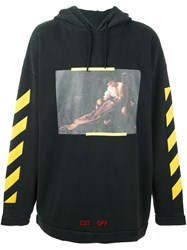 Off White 'S. Francesco' Hoodie Black