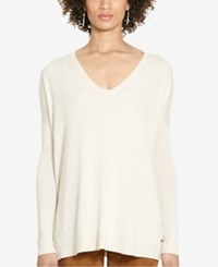 Polo Ralph Lauren Relaxed V Neck Sweater Mesa Heather
