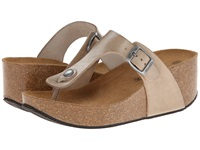 Eric Michael Mila Natural Women's Wedge Shoes Beige