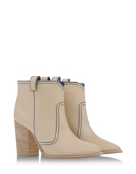 Laurence Dacade Ankle Boots Beige
