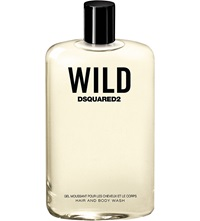 Dsquared Wild Hair And Body Wash 200Ml