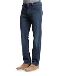 Heritage Courage Mid Rise Faded Jeans Deep Blue