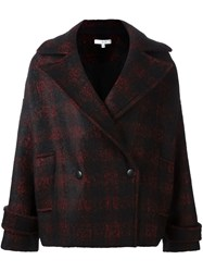 Iro Double Breasted Coat Black