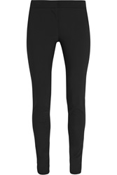 Stella Mccartney Cotton Blend Crepe Skinny Pants