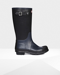 Hunter Uk Men's Original Ribbed Leg Wellington Boots Official Site