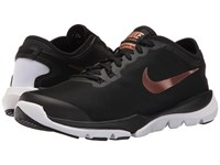 Nike Flex Supreme Tr4 Black Metallic Red Bronze White Women's Cross Training Shoes