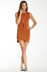 Riller And Fount Jack Open Back Muscle Tunic Brown