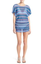 Women's Profile By Gottex Print Mesh Cover Up Tunic