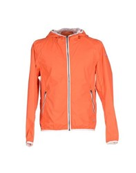 40Weft Coats And Jackets Jackets Men Orange