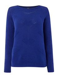 Therapy Heart Jumper Blue
